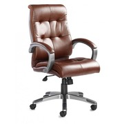 17% off on Managers Brown Leather Chair