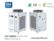 S&A water chiller system CW-6200 with 5.1KW cooling capacity
