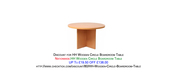 Discount for HH Wooden Circle Boardroom Table